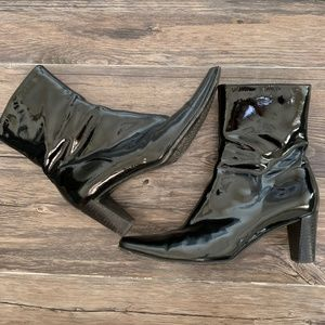 Aquatalia by Marvin K Gray Leather Booties